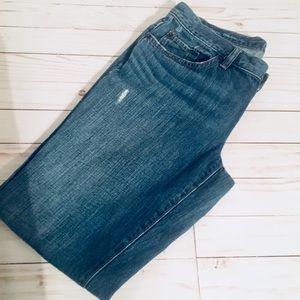 Loft boyfriend jeans. Size 6